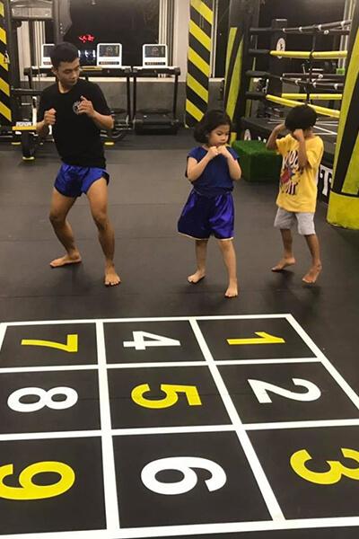 Học võ tự vệ cho trẻ em